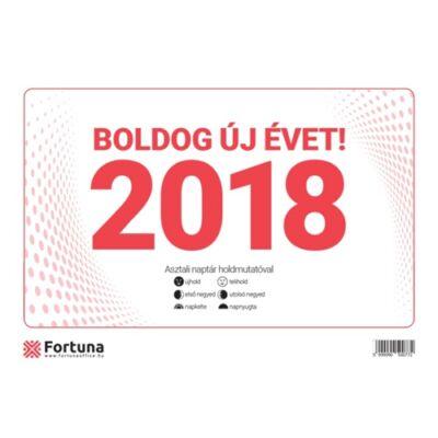 ASZTALI NAPTÁR FORTUNA 23 TA 2018