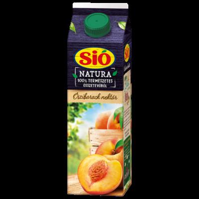 Gyümölcslé SIÓ NATURA 1L rostos őszibarack 50%
