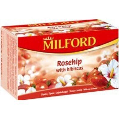 Gyümölcstea csipkebogyó-hibiszkusz 40x3g MILFORD