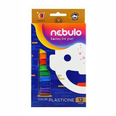 Gyurma NEBULO színes 200 g 12-es készlet