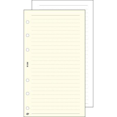 Gyűrűs kalendárium betét Saturnus L326/F vonalas jegyzetlap fehér lapos