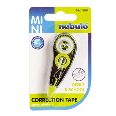 Hibajavító roller NEBULO Mini 5 mm x 3 m