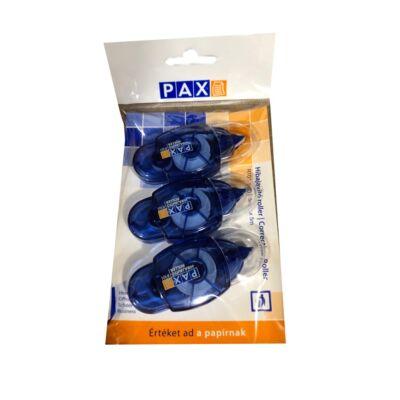 Hibajavító roller PAX R101 5mmx5m 3 db/csomag kék