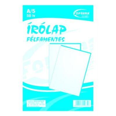 ÍRÓLAP FORTUNA FÉLFAMENTES 10-50 A/5