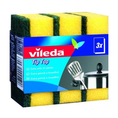 Mosogatószivacs VILEDA Style Tip Top 3+2 db/csom.