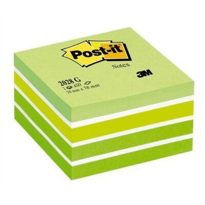 Öntapadós jegyzet 3M Post-it LP2028G 76x76mm aquarell zöld 450 lap