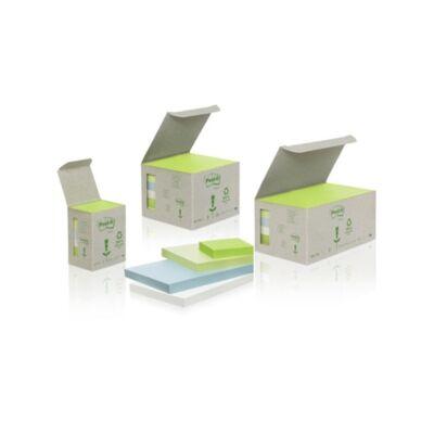 Öntapadós jegyzet 3M Post-it LP653-1GB 51x38mm torony pasztell 6x100 lap/csomag