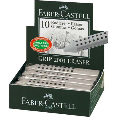 Radír FABER-CASTELL grip 90x15x15mm szürke