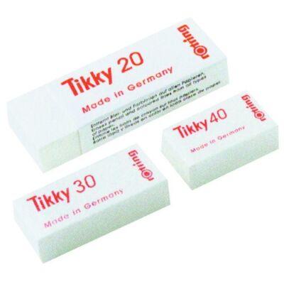 Radír ROTRING Tikky 30 papírtokos 42x12x 7mm fehér