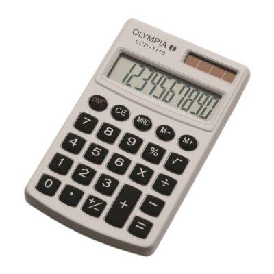 Számológép zseb OLYMPIA LCD-1110 10 digit fehér