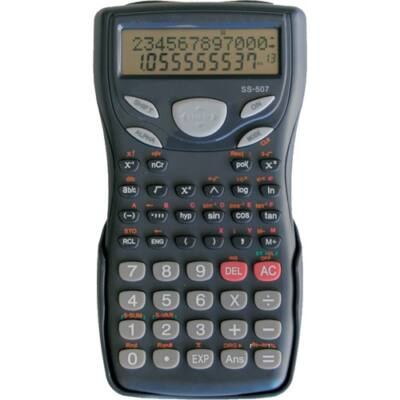 Számológép tudományos OPTIMA SS-507 244 funkciós 2 soros 15 digit