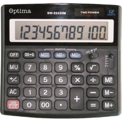 Számológép asztali OPTIMA SW-2242DM 12 digit