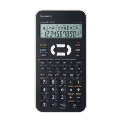 Számológép tudományos SHARP EL-531X 272 funkciós 2 soros 12 digit fehér