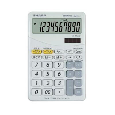 Számológép asztali SHARP EL-M332 12 digit fehér