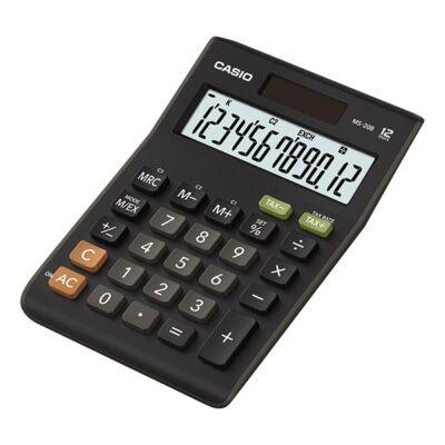 Számológép asztali CASIO MS-20B S 12 digit