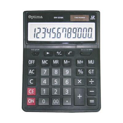 Számológép asztali OPTIMA SW-2239A 12 digit