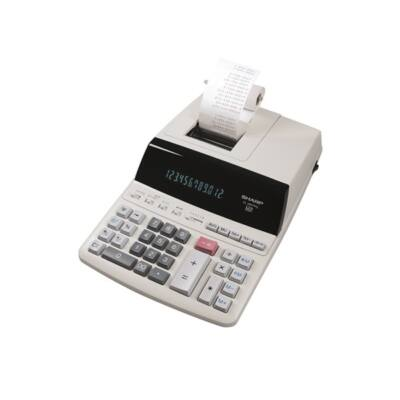 Számológép szalagos SHARP EL-2607PGGYSE 12 digit
