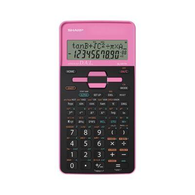 Számológép tudományos SHARP EL-531THBPK 272 funkciós 2 soros 12 digit rózsaszín