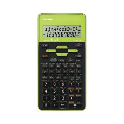 Számológép tudományos SHARP EL-531THGR 272 funkciós 2 soros 12 digit zöld