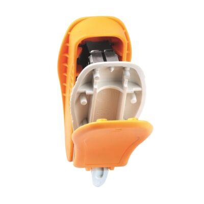 Tűzőgép KANGARO Trendy-10M asztali 10 lap No.10 narancs