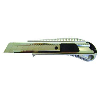 Vágókés SX98 műanyag test fém sínnel 18mm ezüst