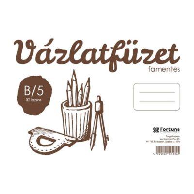 VÁZLATOK FORTUNA B/5 FAMENTES